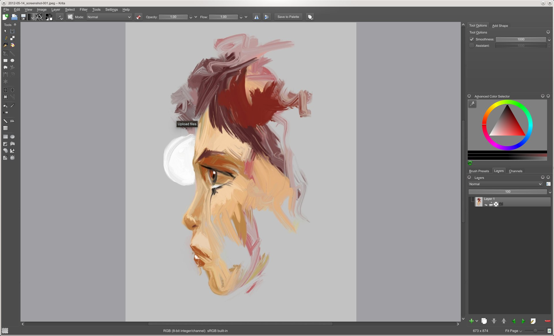Still In Progress, The First Results Of The Textured Brush Feature Are Now  Available Artists Can Create Livelier, Moreanic Brush Strokes By  Blending