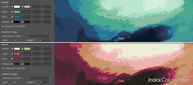 Filter: Index Colors variants