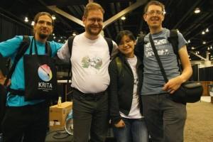 Krita_Team_Siggraph