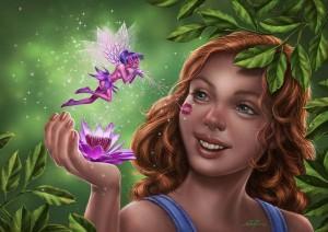 """Fairies"" by Elias Silveira (http://www.flickr.com/photos/elias_ilustracao_design)"
