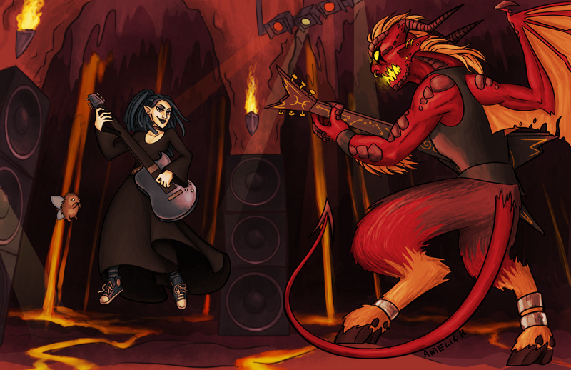 duelling with a demon 800px