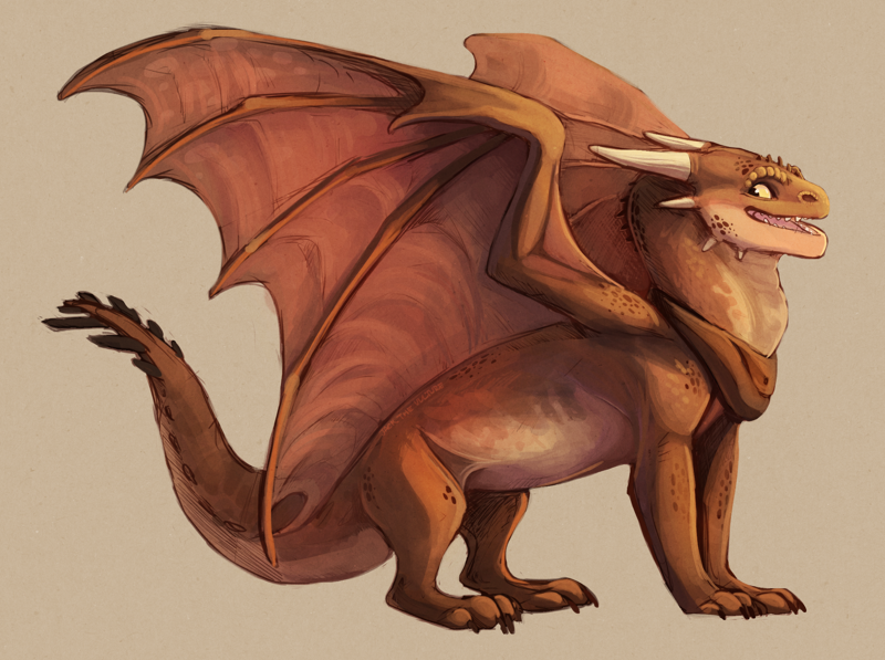 Dragon Character Design