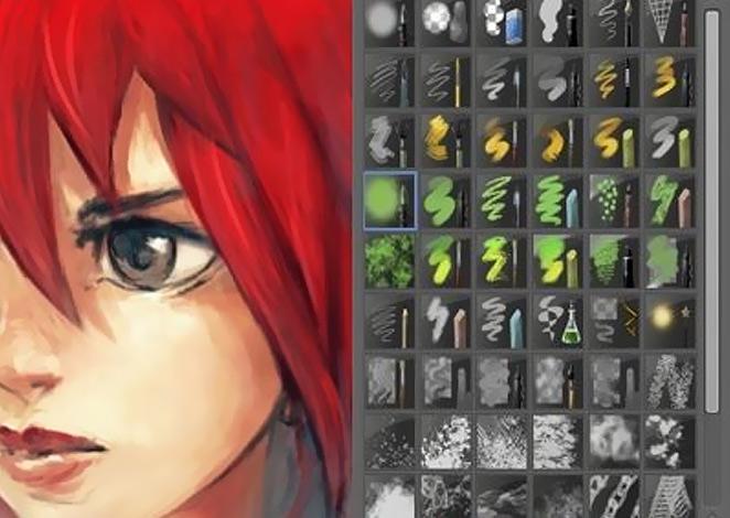 Full Krita x64 screenshot