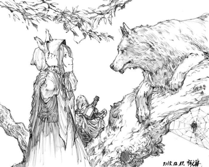 little_red_riding_hood_by_rakugaki300page-d9keuwi