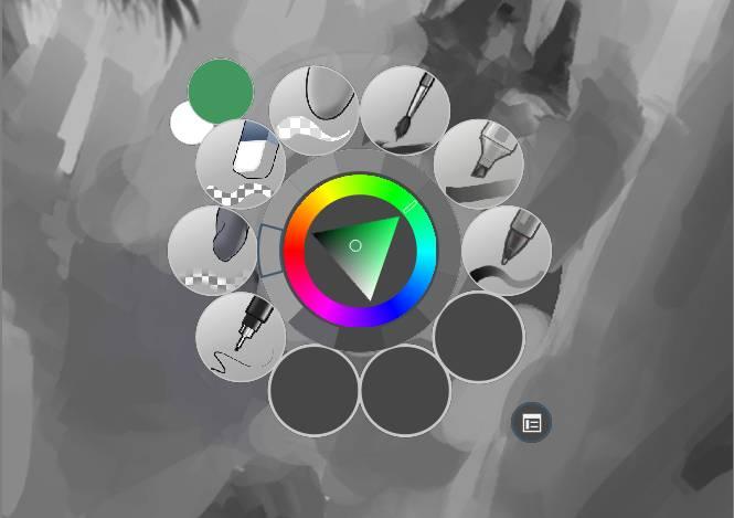 Krita x64 screenshot
