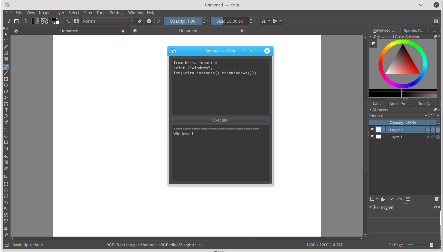 To Run Python Scripts From Krita With Access To The Krita Python Api Which  Is Currently