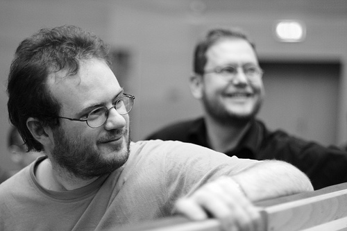 2008 年的 Cyrille 和 Boudewijn