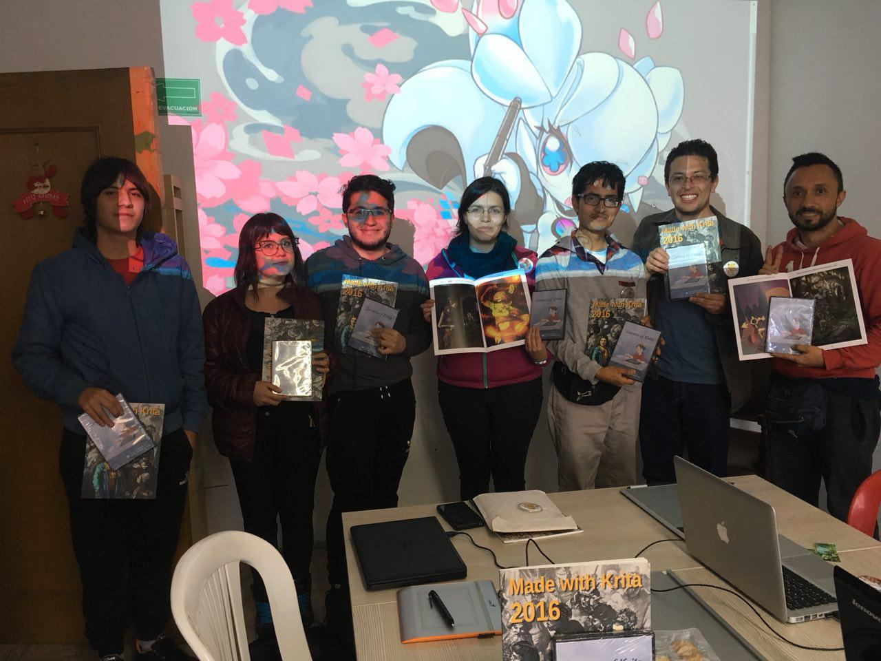 colombia krita course participants