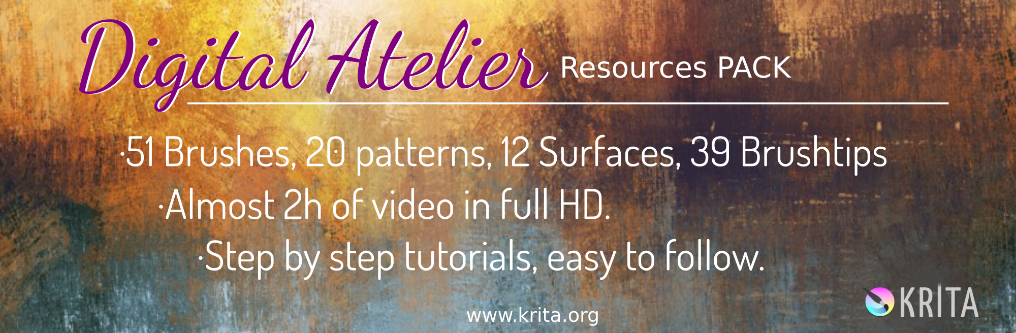 Introducing Digital Atelier: a painterly brush preset pack by Ramon