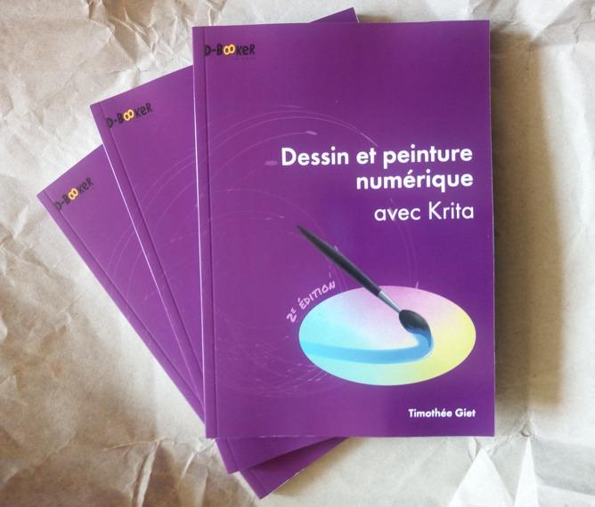 Second Edition Of Dessin Et Peinture Numerique Avec Krita Published Krita