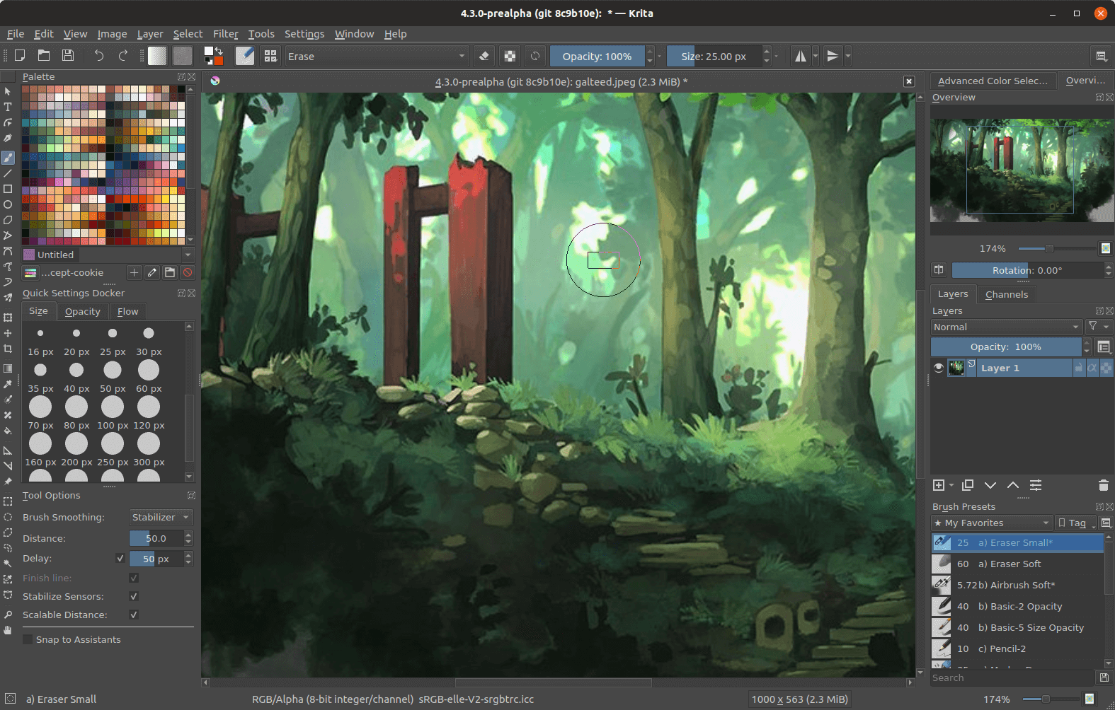 Krita screenshot