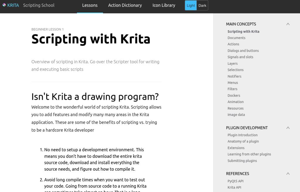 scripting.krita.org